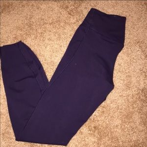 Nike dark purple work out pants
